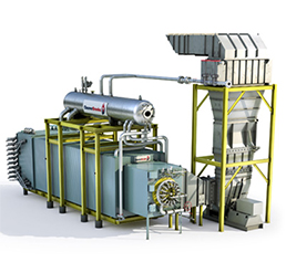 CB Boiler Model Forced-Circulation OSSG