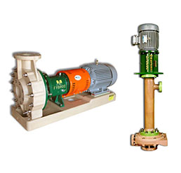 Corrosion Resistant Centrifugal Pumps