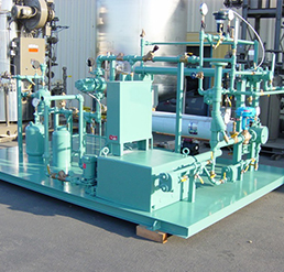 Hot Water Boiler Skid