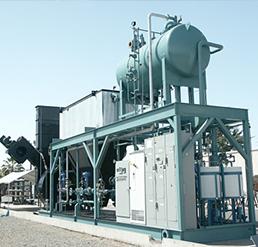 Modular Central Boiler Plant