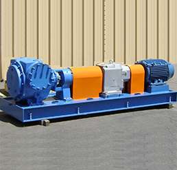 Rotary Gear Pump Skid
