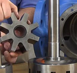 gear box pump repair