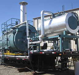 Trailer-Mounted Boiler Rentals