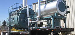 Trailer Mounted Boiler