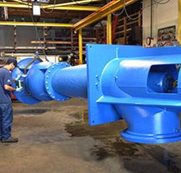 vertical turbine rebowling
