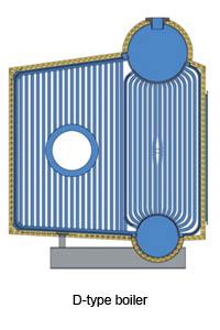 D-Type Steam Boiler