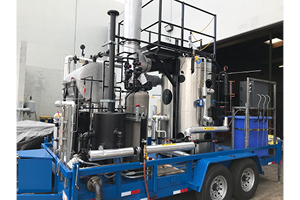New 40HP Mobile Steam Plant Rental - R F  MacDonald Co