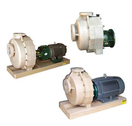 Ceco fybroc self-priming pumps