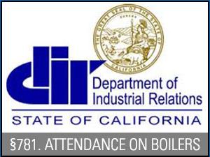 boiler attendance