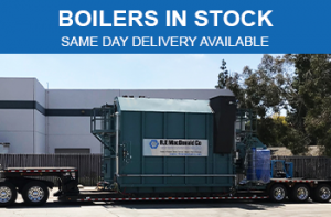 Boilers in Stock in CA & NV