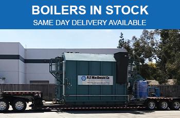 Boilers in Stock in CA & NV