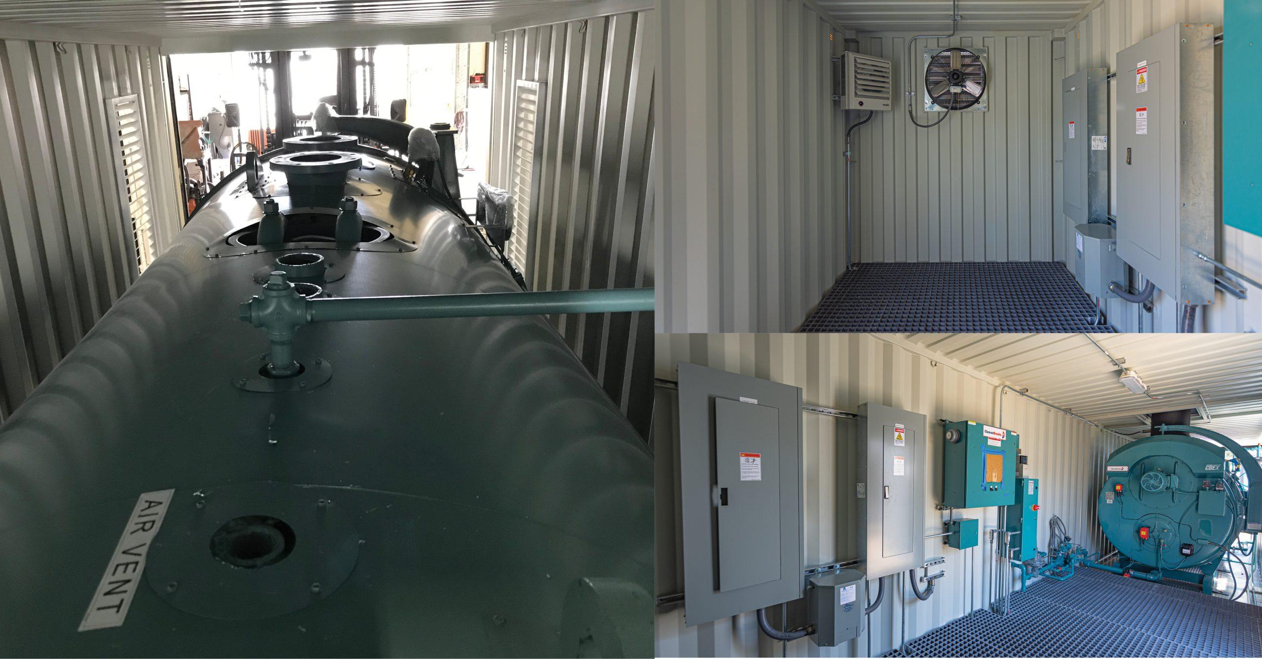 hot water boilers food processing