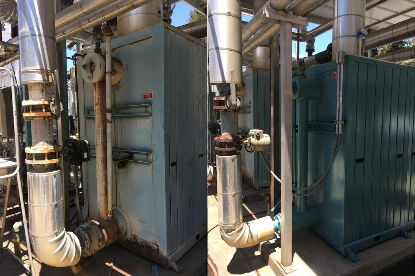 Boiler-Flue