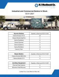 California Boilers in Stock