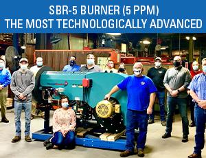 SBR-5 Burner Cleaver-Brooks 5 PPM